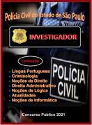 Investigador-Polícia Civil São Paulo-Apostila- em PDF-Concurso - 2021