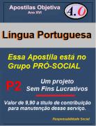 LÍNGUA PORTUGUESA -Apostila para Concursos Públicos, ENEM, etc. - em PDF