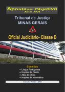 OFICIAL  JUDICIÁRIO - TJ - Minas Gerais - 2021 - Apostila Completa- PDF