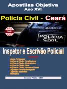 Polícia Civil-CEARÁ-INSPETOR E ESCRIVÃO-Apostila em PDF-completa-2021