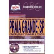 PRAIA GRANDE- SP - PREFEITURA MUNICIPAL-1.8 - Diversos Cargos