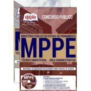TÉCNICO MINISTERIAL - ÁREA ADMINISTRATIVA - MP- Pernambuco-1.8