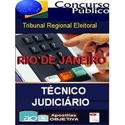 TRE RIO DE JANEIRO 2017 - Apostila PDF - Completa Técnico Judiciário Administrativa