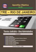 TRE RIO DE JANEIRO 2021 - Apostila em PDF - Completa Técnico Judiciário Administrativa