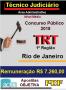 APOSTILA (PDF) CONCURSO TRT- RJ  (1.8) - TÉCNICO JUDICIÁRIO - ADMINISTRATIVA