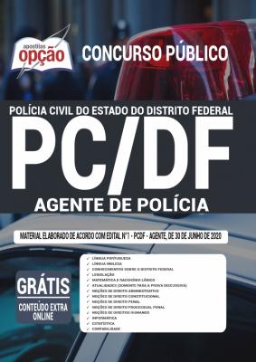 Agente de Polícia-PC-Polícia Civil do DF-Apostila-IMPRESSA-2.0  - Apostilas Objetiva