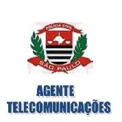 AGENTE de TELECOMUNICAÇÕES - Polícia Civil SP- 2017-18 - Apostila-Completa em PDF  - Apostilas Objetiva