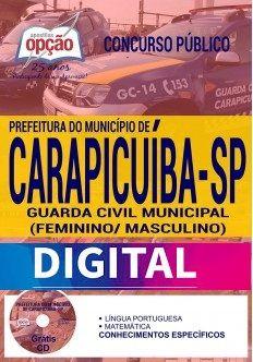 Apostila Completa DIGITAL - GUARDA CIVIL MUNICIPAL (FEMININO/ MASCULINO)  - Apostilas Objetiva