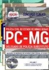 Apostila Completa IMPRESSA-DELEGADO de Polícia Substituto- PC - MG.  - Apostilas Objetiva