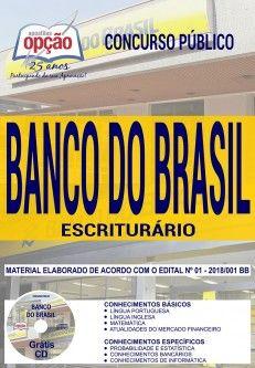 Apostila Concurso BANCO DO BRASIL - Escriturário-1.8  - Apostilas Objetiva