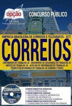 APOSTILA CONCURSO CORREIOS | CARGOS DE NÍVEL MÉDIO E SUPERIOR (COMUM A TODOS)  - Apostilas Objetiva