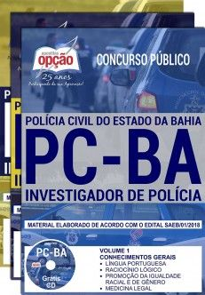 Apostila Concurso INVESTIGADOR DE POLÍCIA CIVIL - BA.  - Apostilas Objetiva