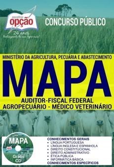 APOSTILA CONCURSO MAPA|AUDITOR FISCAL FEDERAL AGROPECUÁRIO - MÉDICO VETERINÁRIO  - Apostilas Objetiva