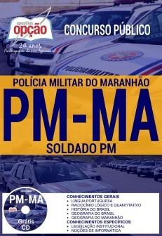 APOSTILA CONCURSO PM-MA |SOLDADO PM  - Apostilas Objetiva