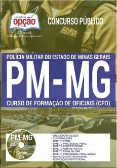 APOSTILA CONCURSO PM-MG |CURSO DE FORMAÇÃO DE OFICIAIS  - Apostilas Objetiva
