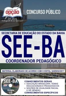 Apostila Concurso SEE-BA - Coordenador Pedagógico.  - Apostilas Objetiva