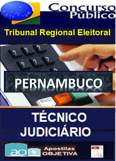Apostila-Concurso-TRE-PERNAMBUCO-2016-Completa-em-PDF-Técnico-Judi.-Administrativa  - Apostilas Objetiva