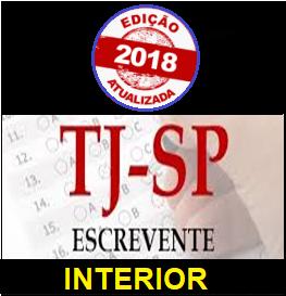 Apostila em PDF-Concurso Escrevente Téc. Judiciário – TJ São Paulo 2018  - Apostilas Objetiva
