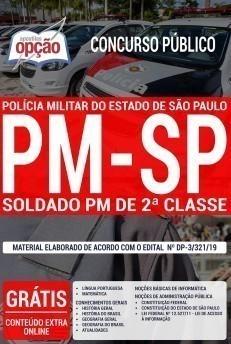 APOSTILA Impressa - CONCURSO SOLDADO DA PM São Paulo  - Apostilas Objetiva