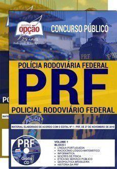 APOSTILA (IMPRESSA) POLÍCIA RODOVIÁRIA FEDERAL-1.8 - CARGO: POLICIAL RODOVIÁRIO  - Apostilas Objetiva