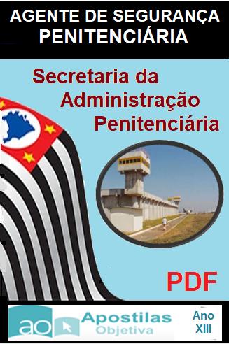 Apostila PDF-Concurso-Agente-de-Segurança-Penitenciária-SP-2017  - Apostilas Objetiva