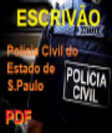 Apostila (PDF)-Concurso-ESCRIVÃO-Polícia Civil SP-Concurso - 2020  - Apostilas Objetiva