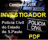Investigador-Polícia Civil São Paulo-Apostila- em PDF-Concurso-2020-2021  - Apostilas Objetiva