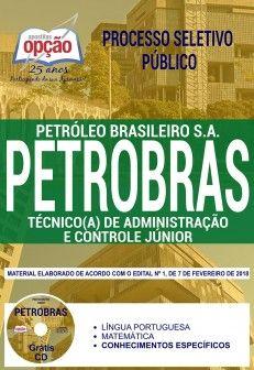 Apostila-PETROBRAS-TÉCNICO (A) DE ADMINISTRAÇÃO E CONTROLE JÚNIOR-1.8  - Apostilas Objetiva