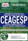 APOSTILAS CONCURSOS CEAGESP-SP - 1.8  - Apostilas Objetiva
