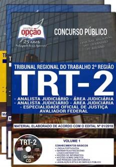 ANALISTA-JUDICIÁRIO-TRT-2-SP-OF.JUST.AVAL.FEDERAL-Apostila-IMPRESSA-1.8  - Apostilas Objetiva