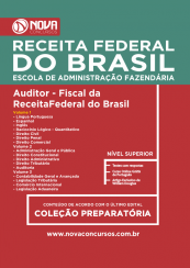 Apostila Receita Federal - AUDITOR FISCAL (NV)  - Apostilas Objetiva