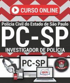 CURSO ON LINE | Concurso ESCRIVÃO DE POLÍCIA CIVIL - SP.-1.8  - Apostilas Objetiva