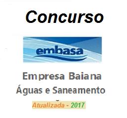 EMBASA - BA - Agente Administrativo - 2017  - Apostilas Objetiva