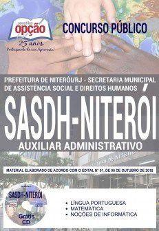 NITEROI - RJ - PREFEITURA MUNICIPAL-SASDH-1.8 - Diversos Cargos  - Apostilas Objetiva
