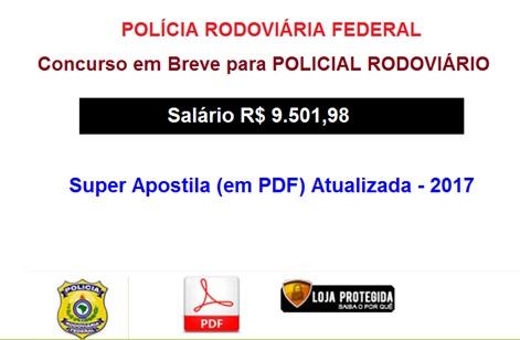 POLICIAL RODOVIÁRIO FEDERAL- Apostila-Atualizada-PDF-Concurso-2019  - Apostilas Objetiva