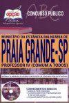 PRAIA GRANDE- SP - PREFEITURA MUNICIPAL-1.8 - Diversos Cargos  - Apostilas Objetiva