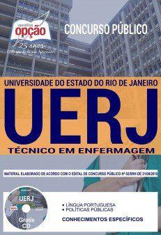 UERJ - Apostila Concurso 1.8 - Técnico em Enfermagem  - Apostilas Objetiva
