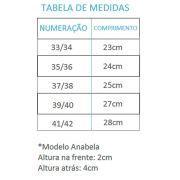 Chinelo Massageador MundoFlex Anabela 804