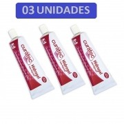 Curatec Hidrogel com Alginato 25g - Kit c/03 Unidades