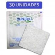 Curativo Alginato de Cálcio e Sódio Curatec 10X10 - Kit c/30 Unidades