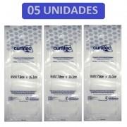 Compressa de Emulsão de Petrolatum Curatec 7,6cmX20,3cm- Kit c/05 unidades