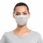 Máscara Reutilizável com Alça Sigvaris Tamanho G Branca 2 unidades