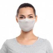 Máscara Reutilizável com Alça Sigvaris Tamanho M Branca 2 unidades