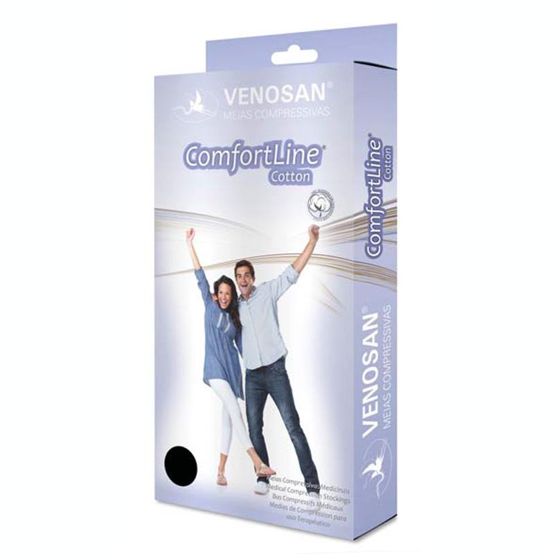 Braçadeira de Compressão Venosan Comfortline Cotton BH Até o Pulso 30-40mmHg Cor Bege