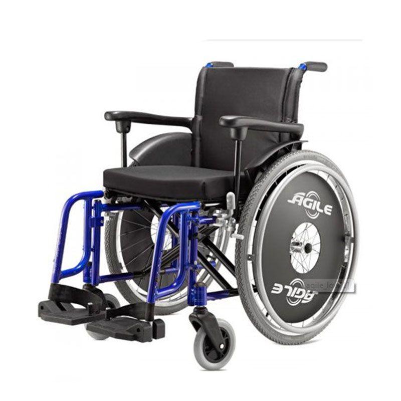 Braço completo cadeira de rodas Agile - Par
