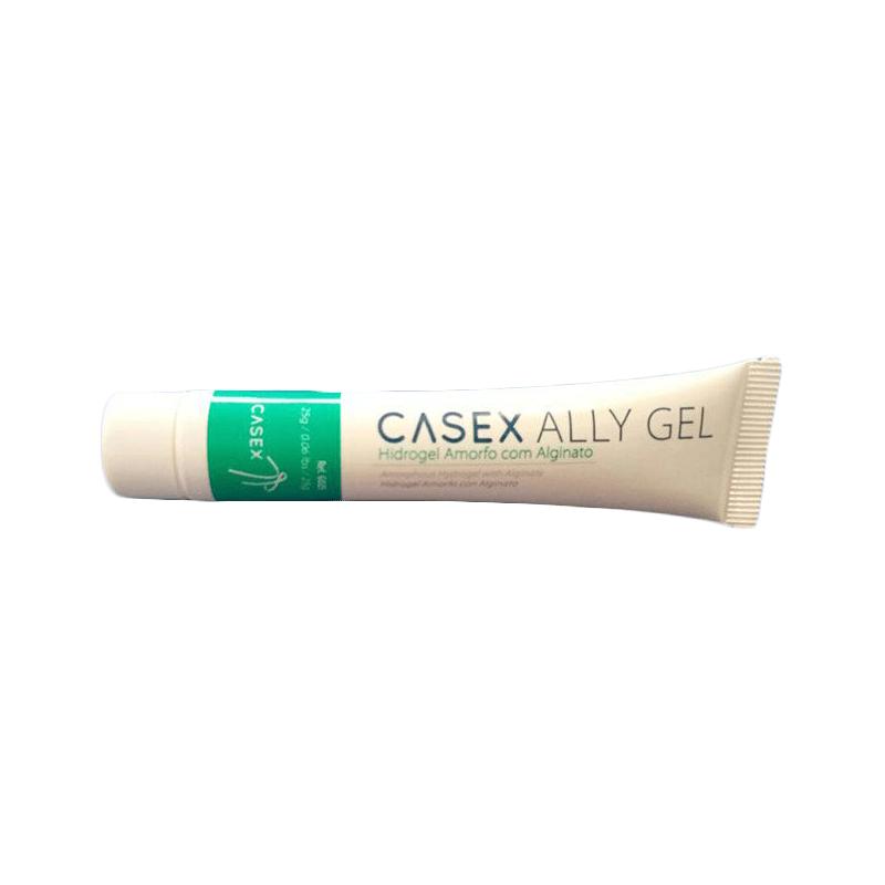 Casex AllyGel hidrogel com amorfo e alginato 25g 10 unidades
