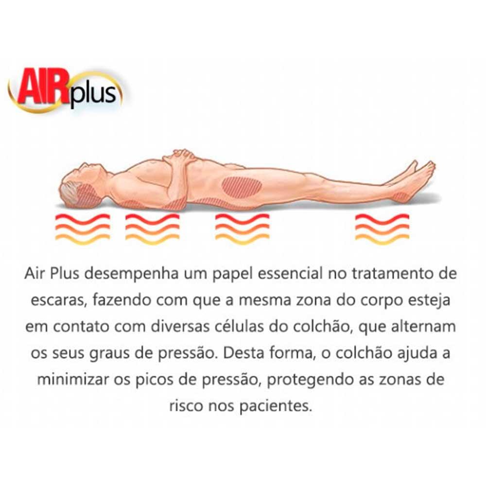 Colchão Ortopédico Pneumático Dellamed Air Plus 220v
