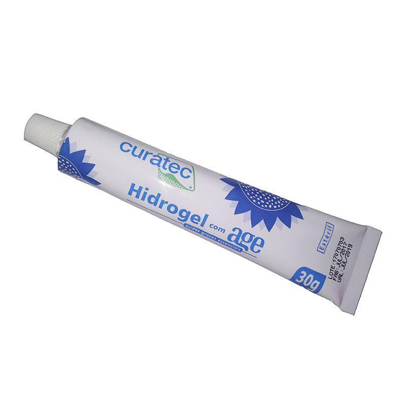 Curatec Hidrogel com Age 30g - Kit c/03 unidades