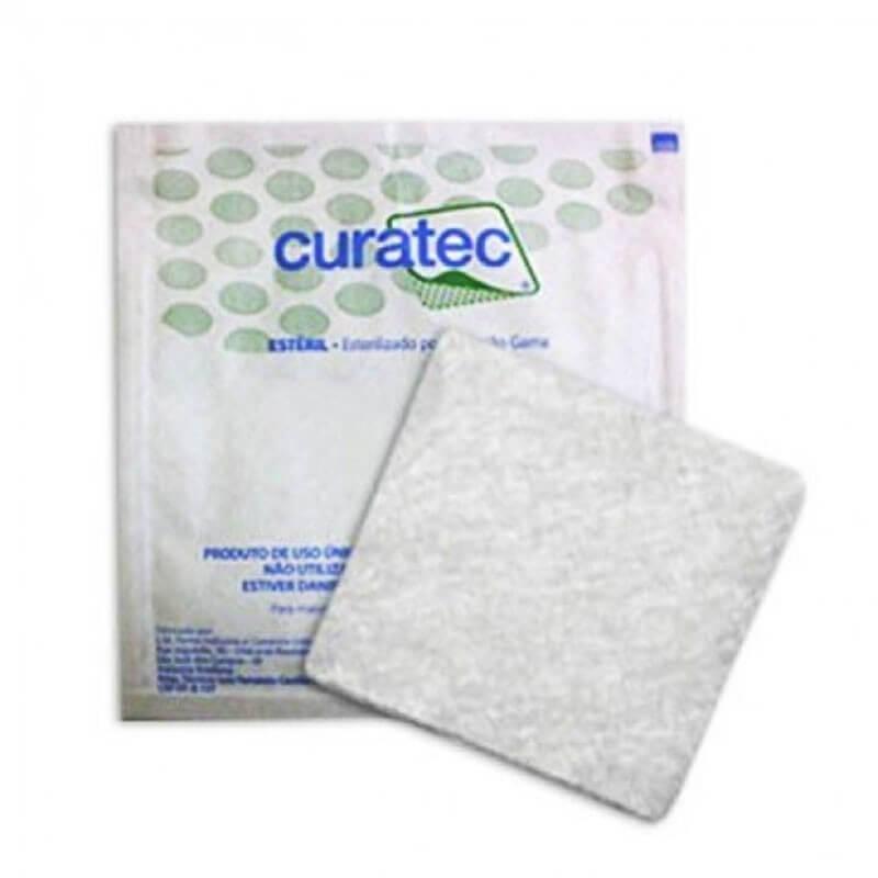 Curativo Alginato de Cálcio e Sódio Curatec 10x10