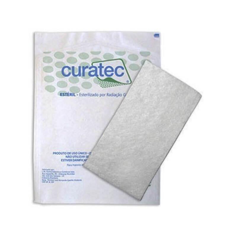 Curativo Alginato de Cálcio e Sódio Curatec 10x20